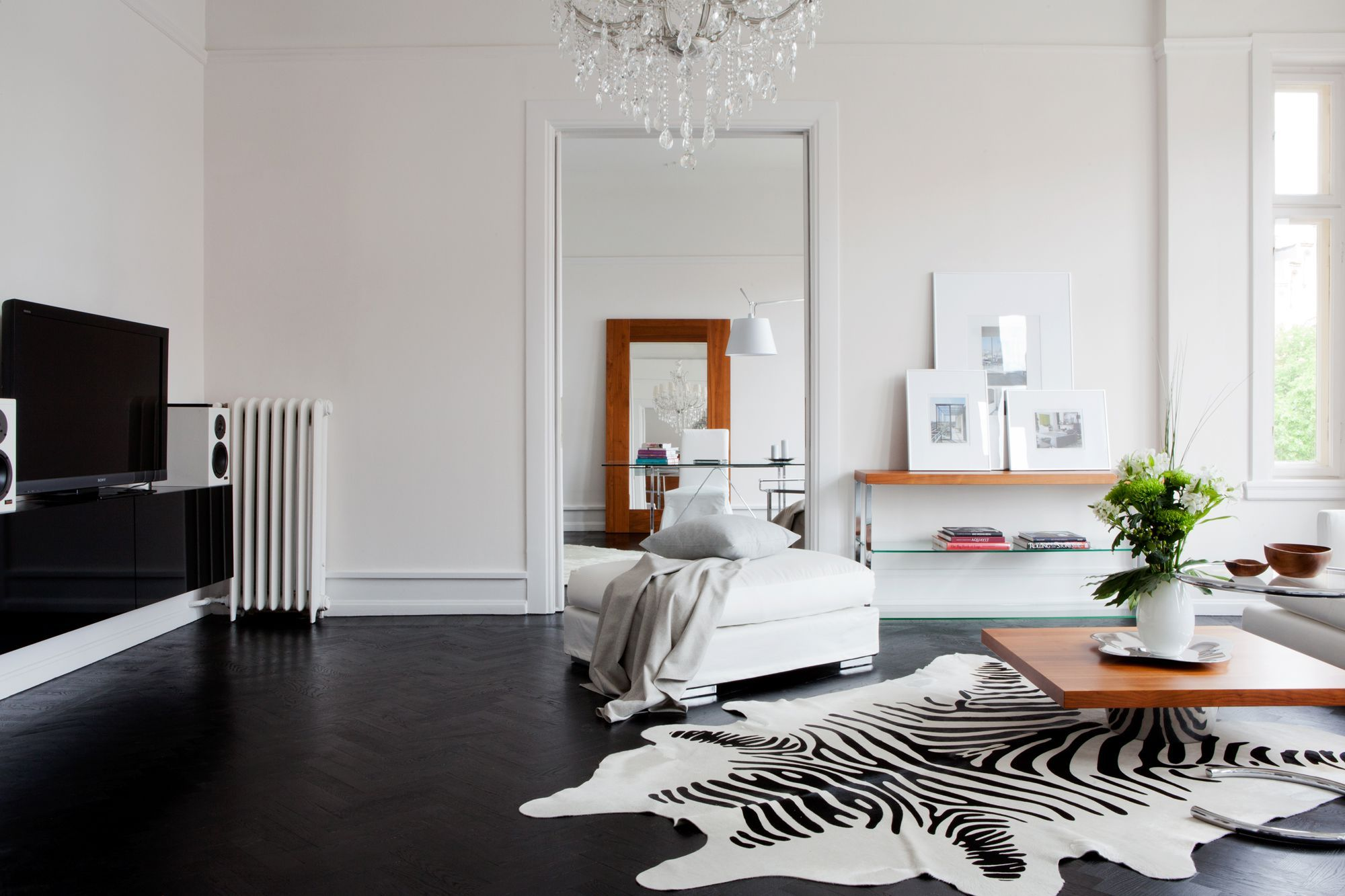 black herringbone floor | bolaget | HOME | Pinterest | Herringbone ...