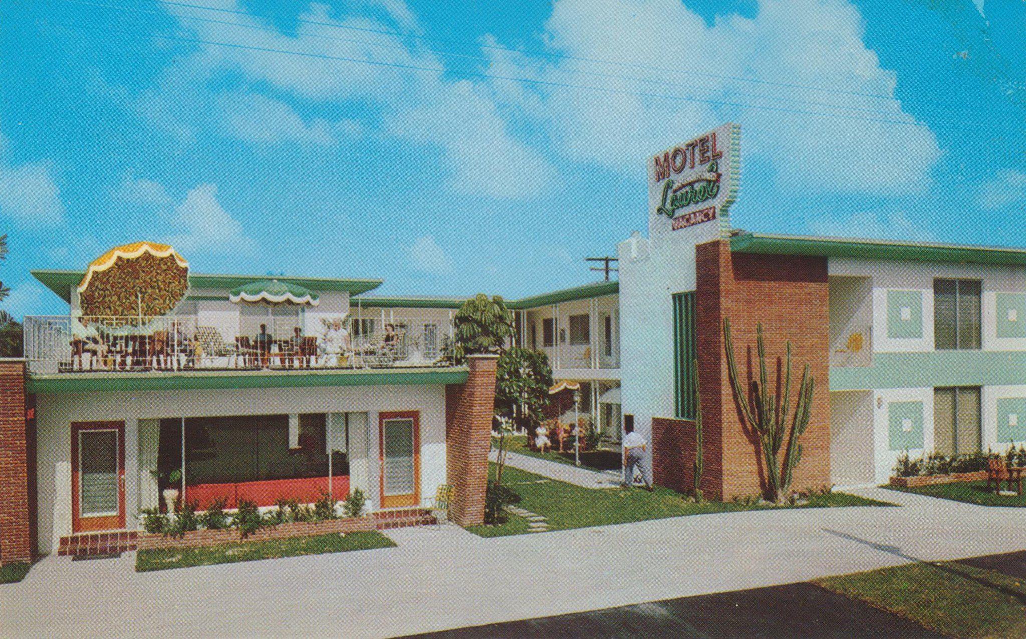 Motel Laurel Miami Florida In 2020 Hotel Motel Vintage Hotels Motel