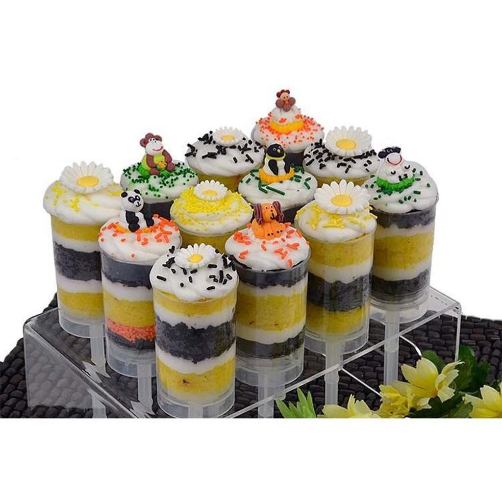 cake push pops containers