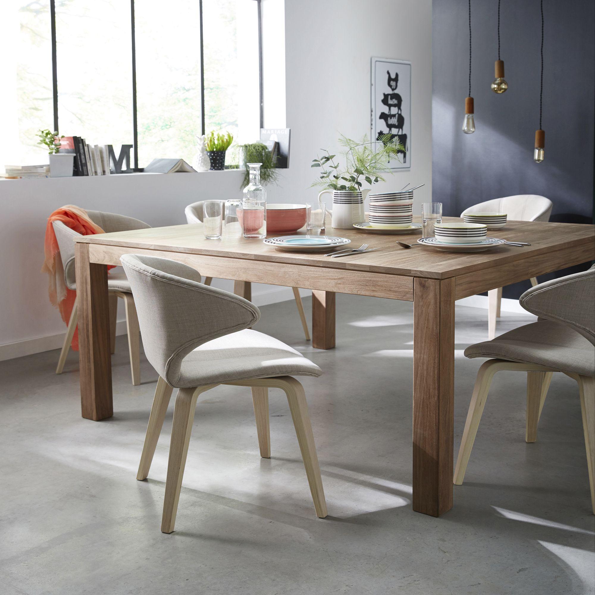 Chaises Alinea Salle A Manger: Idée Décoration Style Industriel