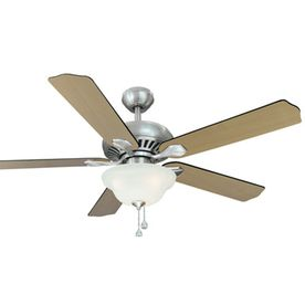 Harbor Breeze 52 In Crosswinds Brushed Nickel Ceiling Fan