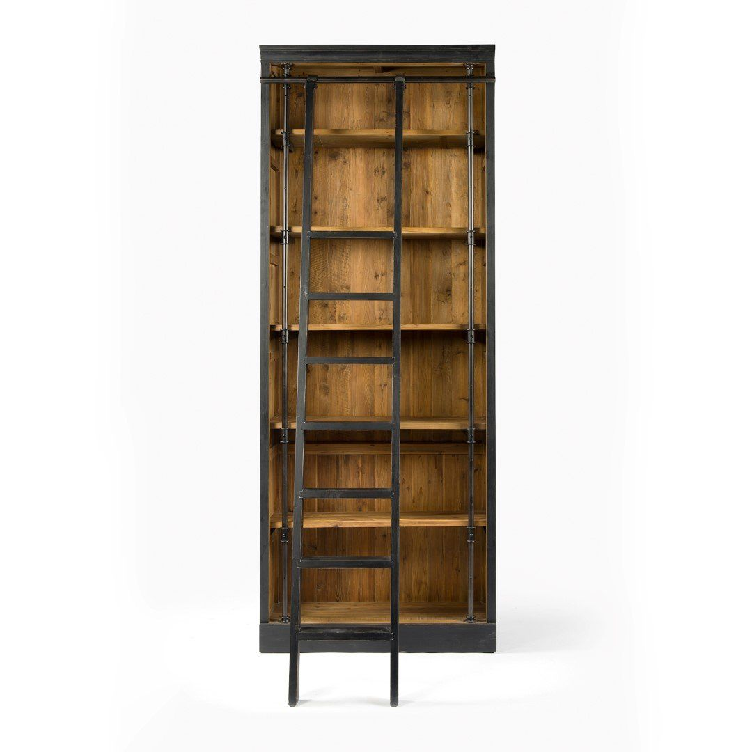 Hemingway Bookcase In 2021 Bookcase Library Bookcase Black Bookcase