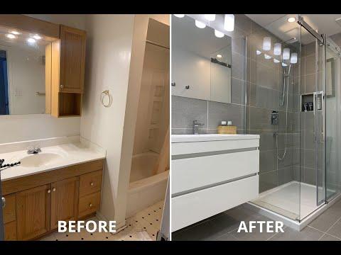Amazing Diy Small Bathroom Remodel Renovation For Under 5k