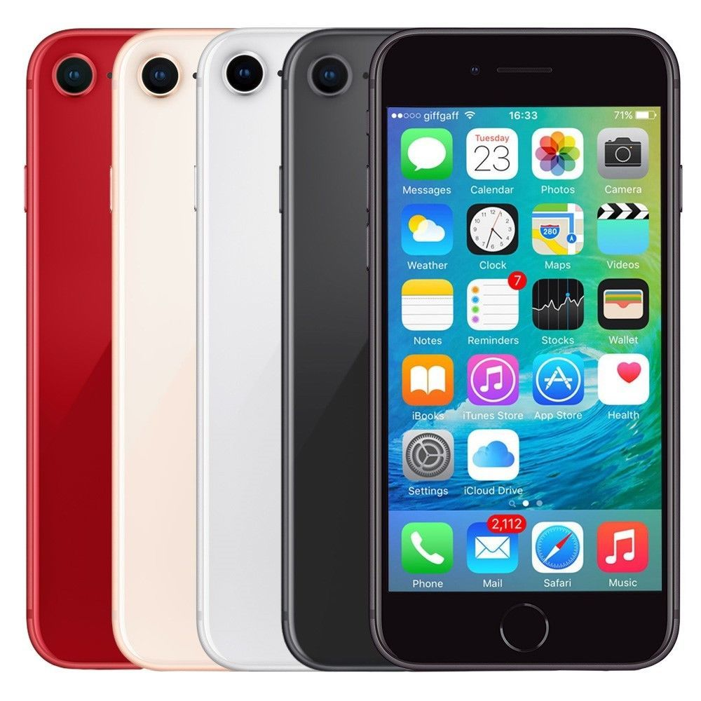 Apple Iphone 8 Smartphone At T Sprint T Mobile Verizon Or Unlocked 4g Lte Ios T Mobile Phones Unlocked Cell Phones Gsm Smartphone