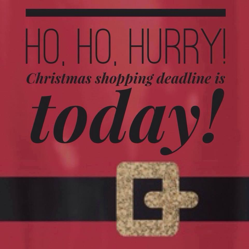 Today is the LAST DAY to order for guaranteed Christmas delivery ...