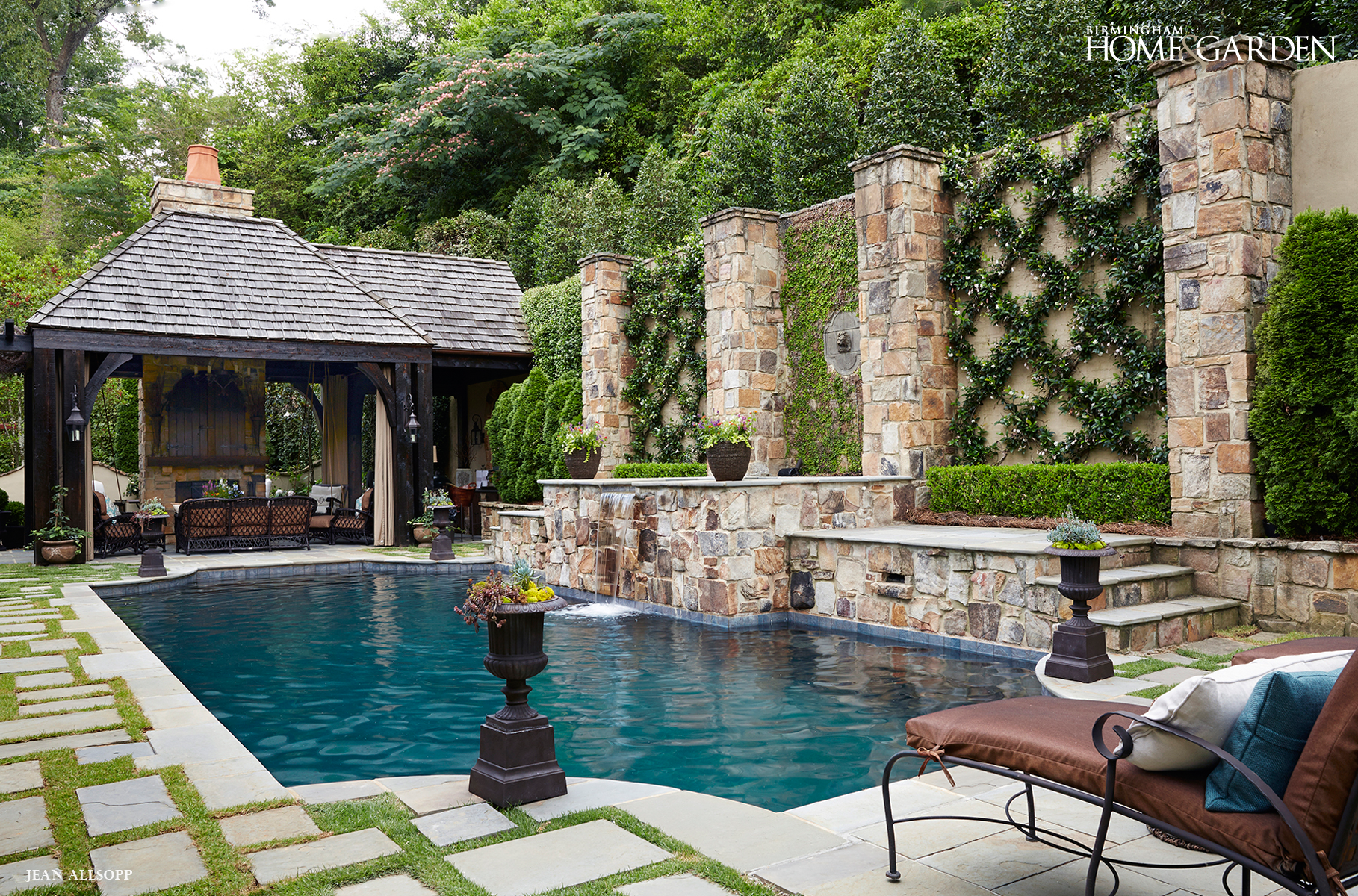 Garden pool.   Outside: PorchDeckPatioBalconyGardenYardPool ...