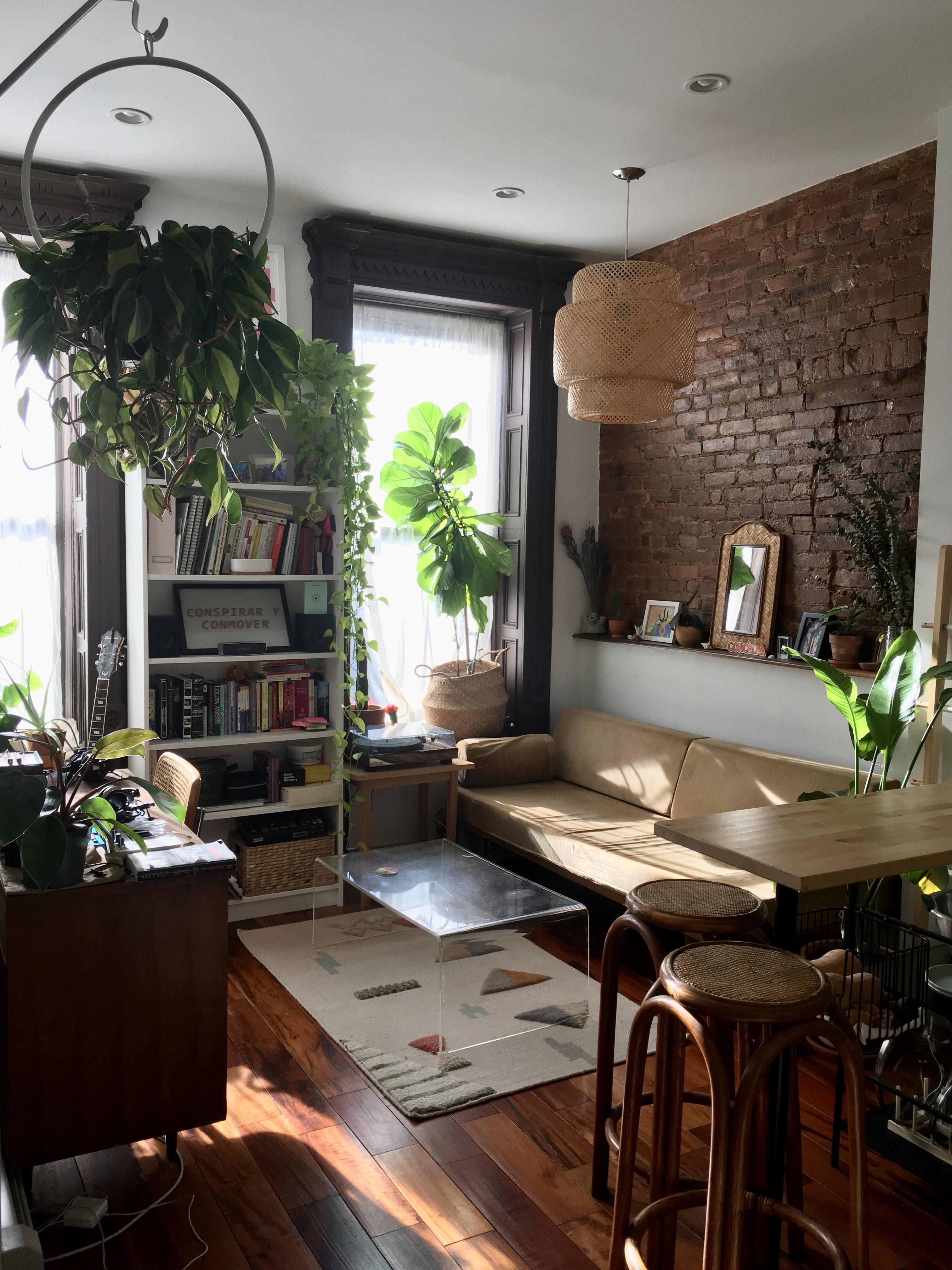Sun Filled Living Room Brooklyn Ny Daily Home Decor And Interior Design Inspiration Small House Interior Living Room Brooklyn Small Apartment Living Room