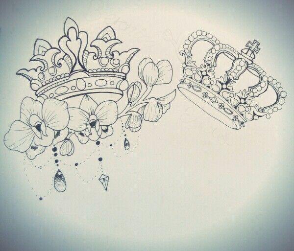 Tatoo V Contreras Crown Tattoo Design Queen Tattoo Tiara Tattoo