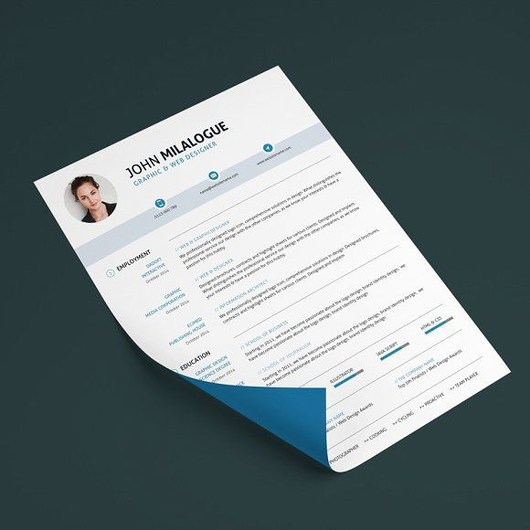 Clean Resume/CV by ohaydesign on @mywpthemes_xyz Best Resume - medical assistant resume template free