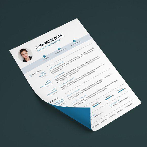 Clean Resume/CV by ohaydesign on @mywpthemes_xyz Best Resume