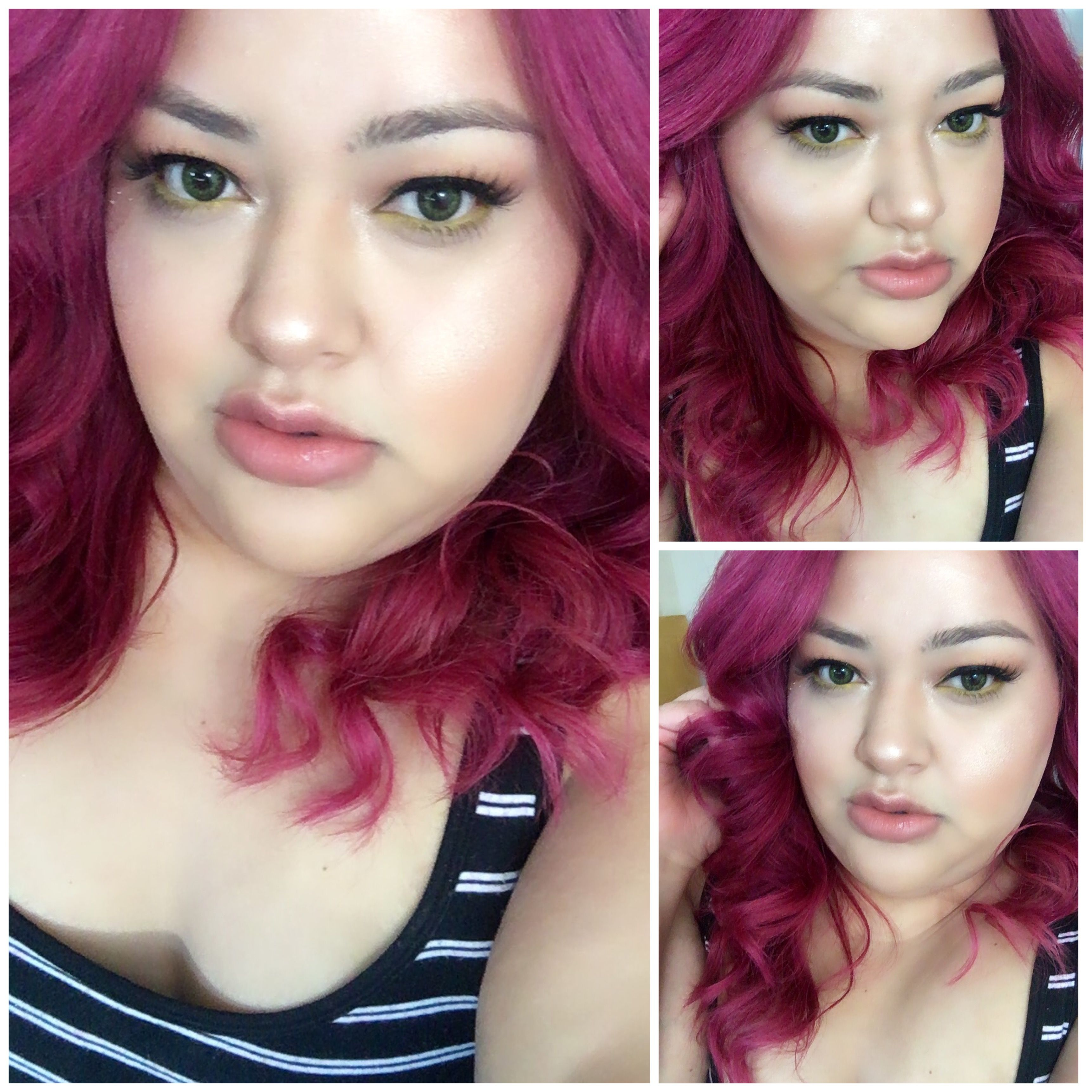 New Haircolor Using Clairol Flare Me Colors Rose To The Occasion