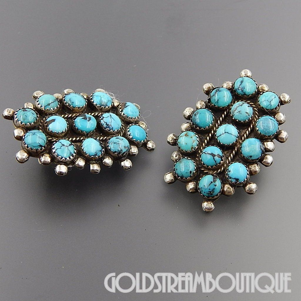 Johnny Was Oval Turquoise Earrings Silver NU4cFmrTdm