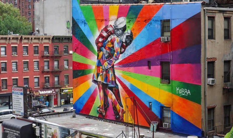 A street art do brasileiro Kobra está ganhando o mundo   designerGH