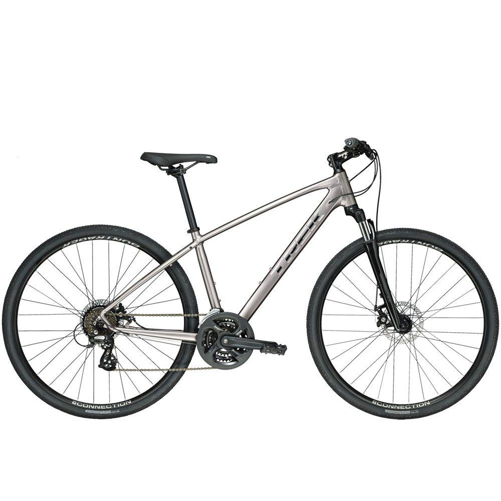 2019 Trek Ds 1 Mens Hybrid Bike In Grey Bicycles For Sale Bike