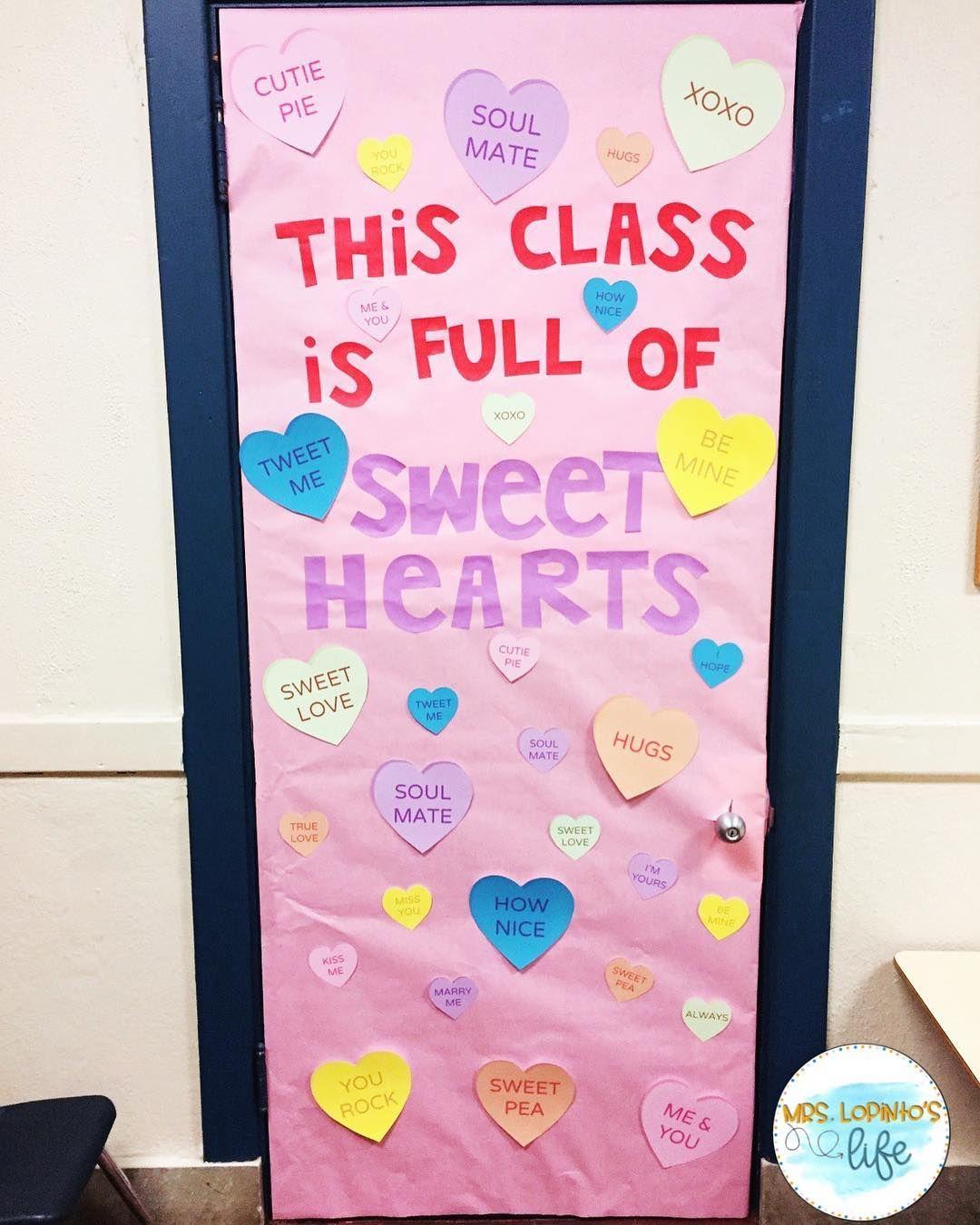 Valentine S Day Decor Valentine S Day Classroom Door Februar Valentines Classroom Decorations Valentines Door Decorations Classroom Valentines Classroom Door