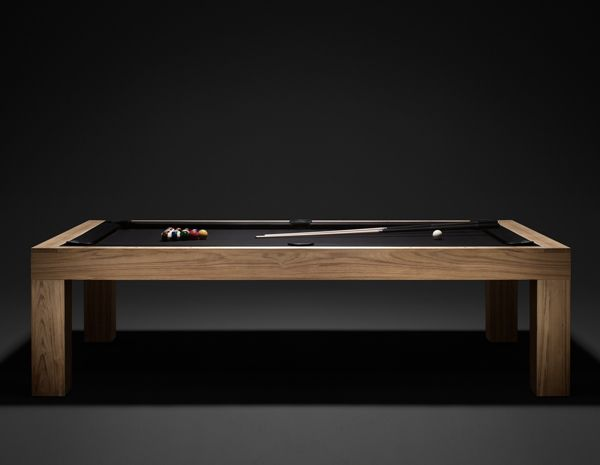 JAMES PERSE Limited Edition Pool Table..teak With Optional Table Top To  Convert Into