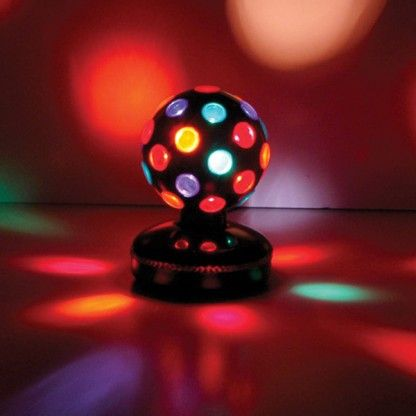 Rotating Disco Ball A Which Rotates Creates Dazzling Lighting Effects Brighten Up Your Home With This Funky Light From The Glow