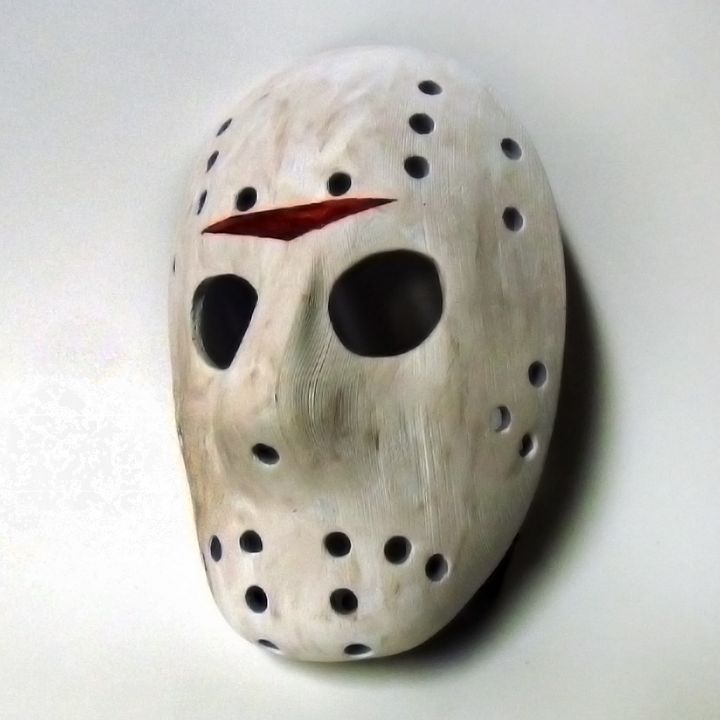 Creepy 3d Printed Jason Mask Design By Alan Stanford Jason