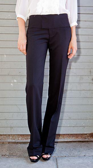 Pantalón con pretina ancha :-)