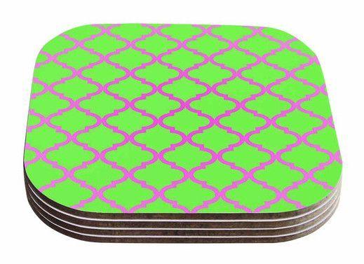 Culture Shock Watermelon by Matt Eklund Coaster