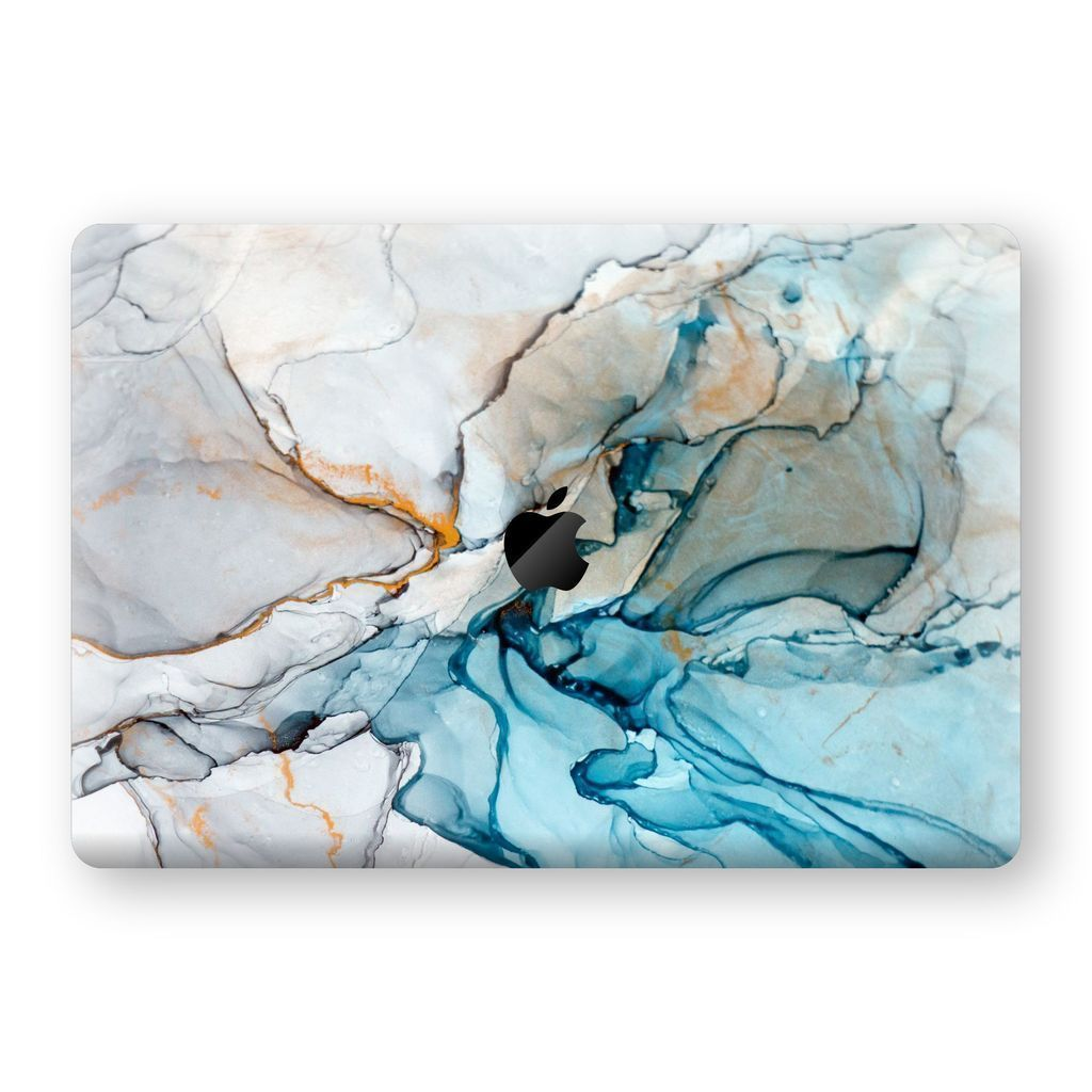 "MacBook Pro 15"" Touch Bar SIGNATURE MARBLE TURQUOISE Skin 