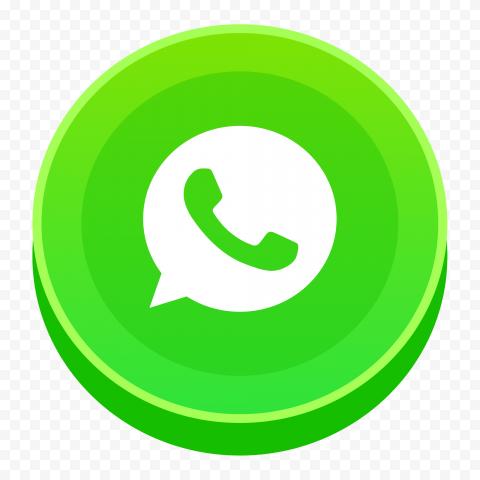 Hd 3d Style Round Vector Whatsapp Wtsp Wa Logo Icon Png Logo Icons Vector Whatsapp Icon