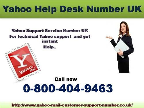Yahoo Mail Help Desk Uk 0 800 404 9463 To Recovery For Account Yahoomailhelp