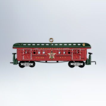 2007 Hallmark LIONEL Train #12 Ornament FREEDOM TRAIN LOCOMOTIVE