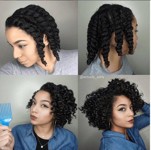 Chunky Flat Twist Out Natural Hair Twists Natural Hair Twist Out Flat Twist Hairstyles