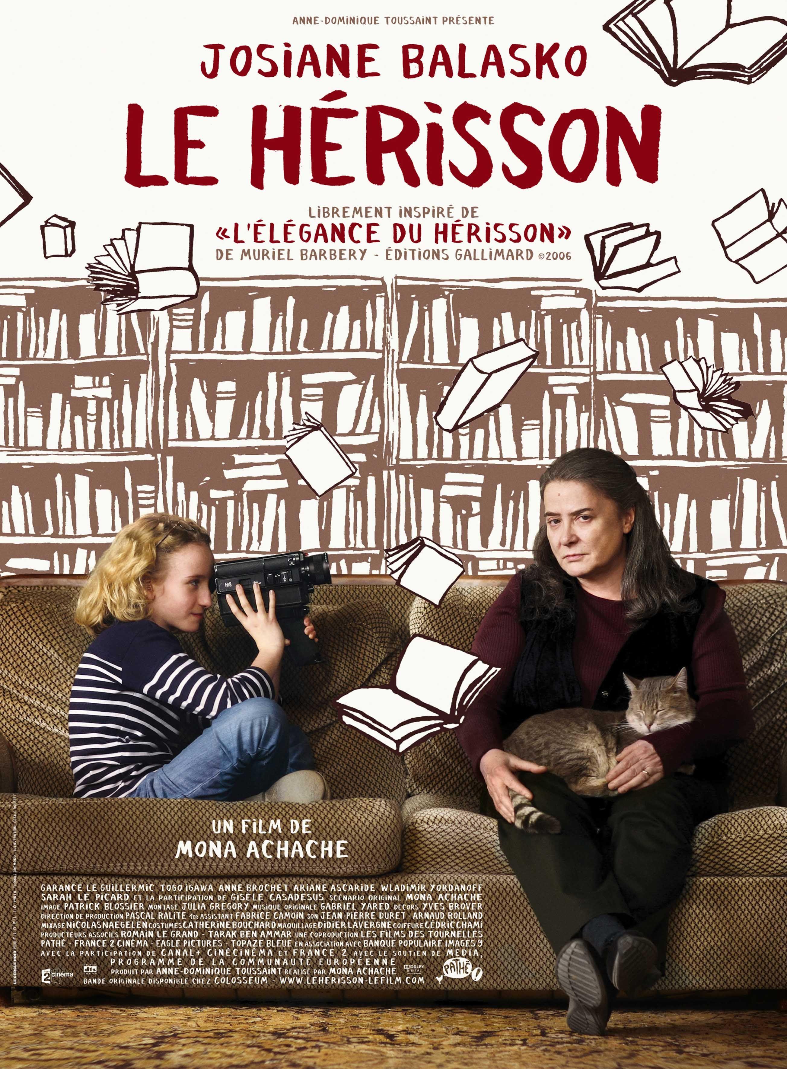 El Encanto Del Erizo La Rebelión A La Burguesía Carteleras De Cine Cine Frances Peliculas