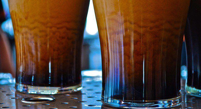 Storm In A Pint Glass Guinness Pilsner Glass Guinness Beer