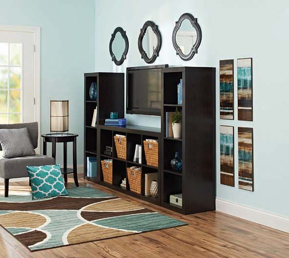 Better Homes And Gardens 16 Cube Wall Unit Organizer Home