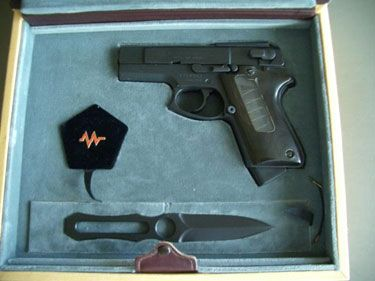"""The """"Quest For Excellence"""" ASP Special Edition  ASP 2000 9mm Pistol A Tribute to it's creator Paris Theodore"""