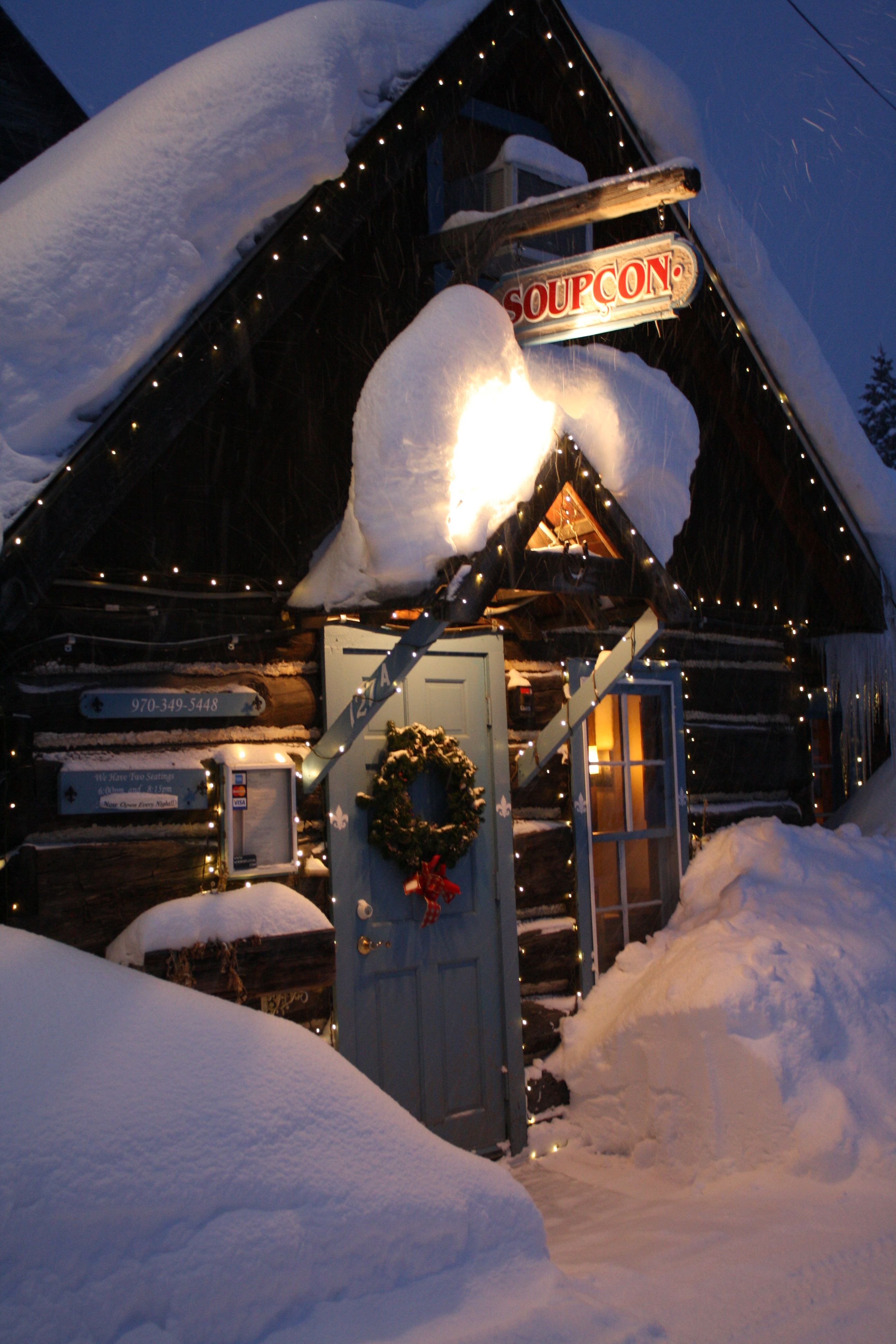 Cozy Cabin Dining At Soupcon Is A Perfect Place For That Special Occasion  Or Those Looking For An Amazing Dining Experience In Crested Butte.