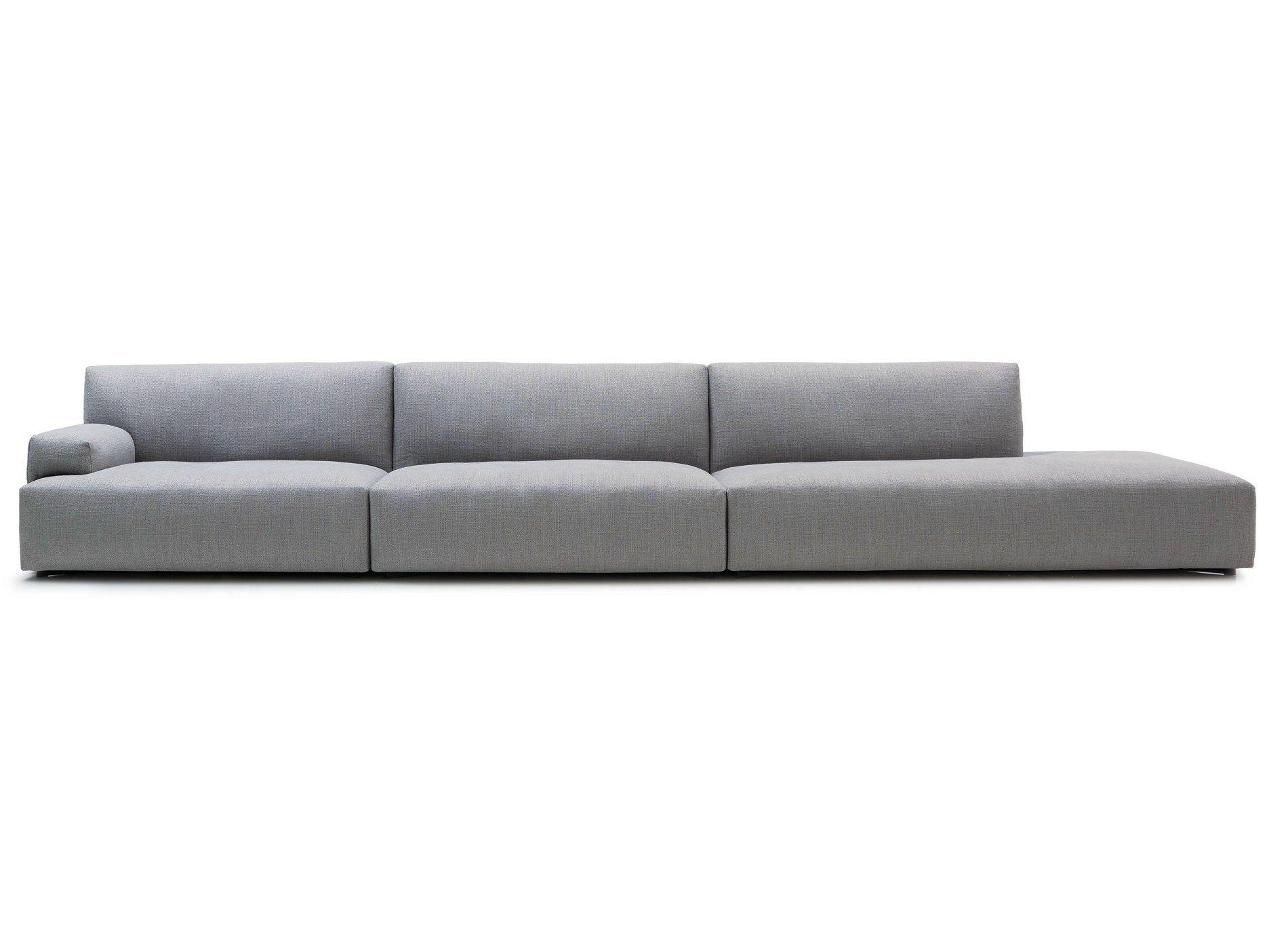 Sectional Fabric Sofa With Removable Cover Soho By Poliform Design Paolo Piva Poliform Sofa Sofa Contemporary Sofa
