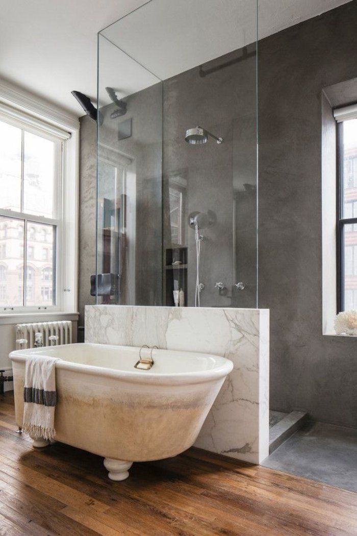 Relooker Une Salle De Bain 42 Idees En Photos Lofts Pinterest