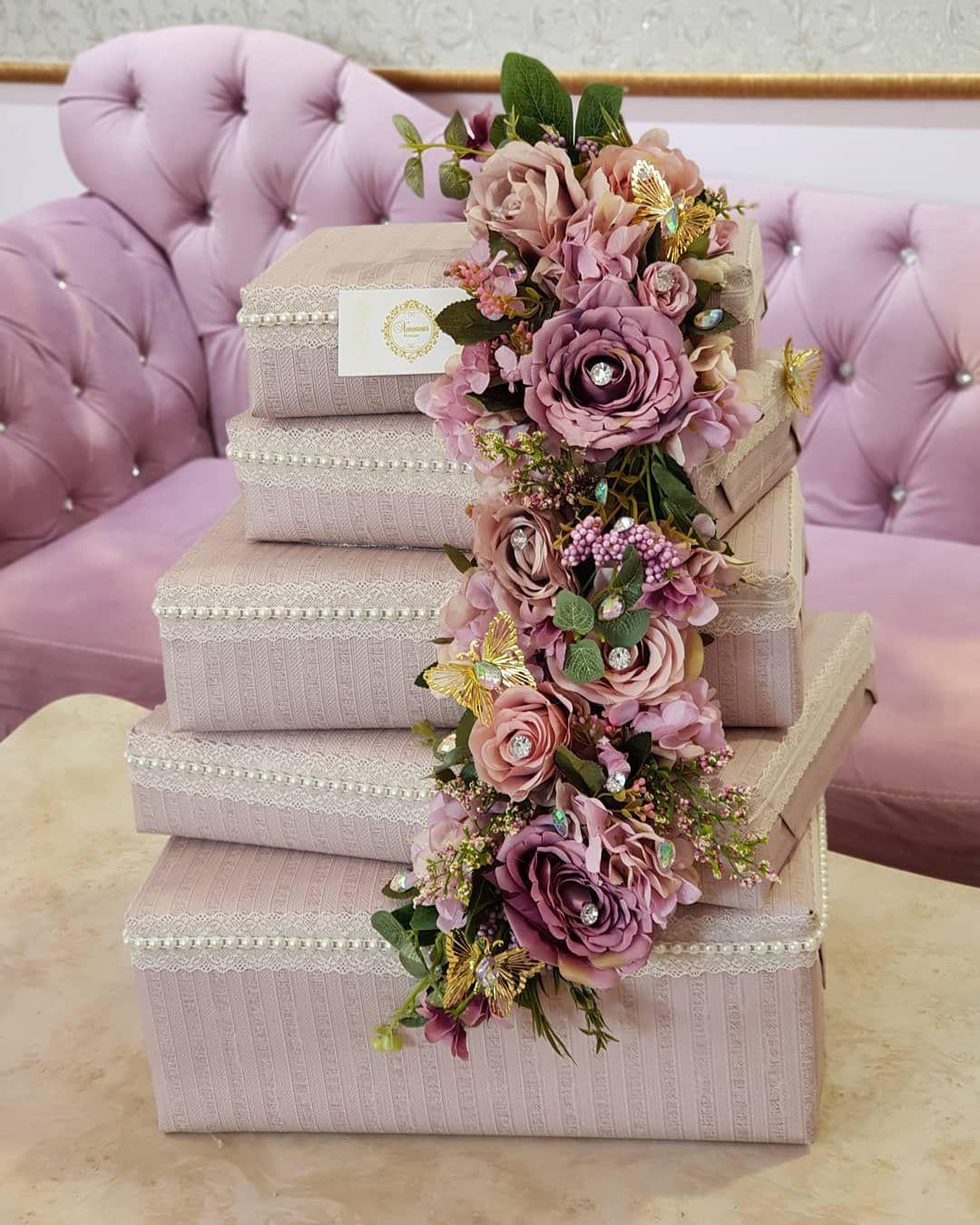 Azerbaycan Aztagram Instagram Xoncanur Xoncaha Heri Nishan Xina Hediyye Wedding Gift Pack Rose Wedding Theme Wedding Gift Boxes