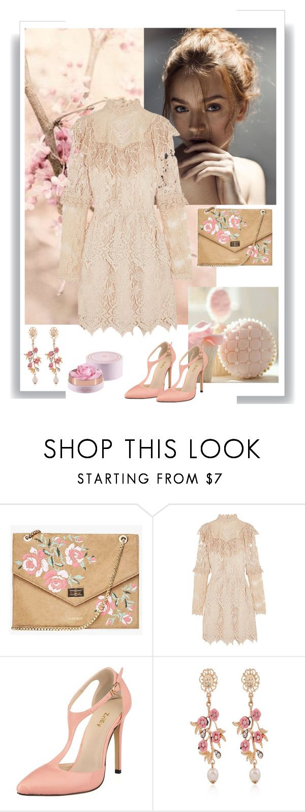 """""""Blind date"""" by gagenna ❤ liked on Polyvore featuring Anna Sui, WithChic, polyvorecontest and blinddate"""