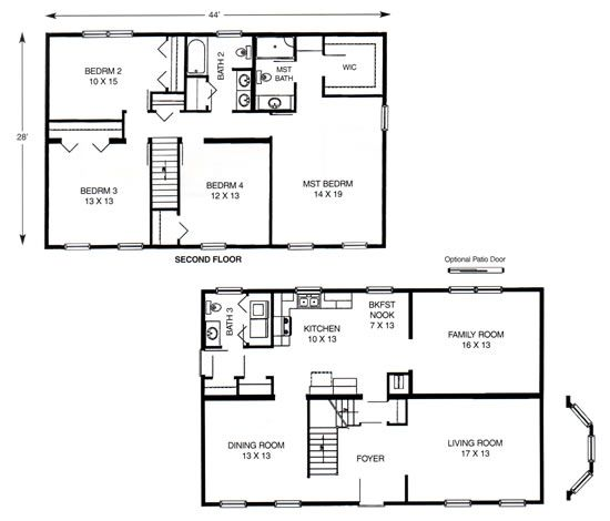quonset house floor plans | two-story > glen arbor | ideas for the