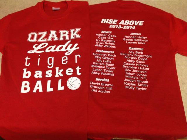 Ozark Lady Tiger Basketball Ozark Hannah Cook Reynolds