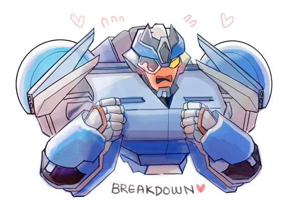 Image result for breakdown fanart cute