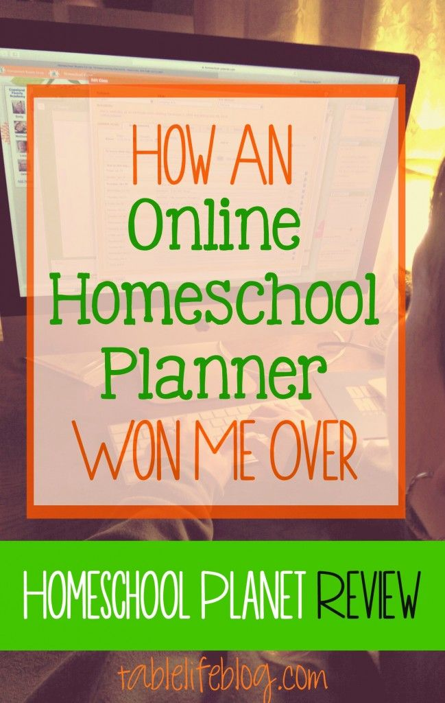 How an Online Homeschool Planner Won Me Over Pinterest