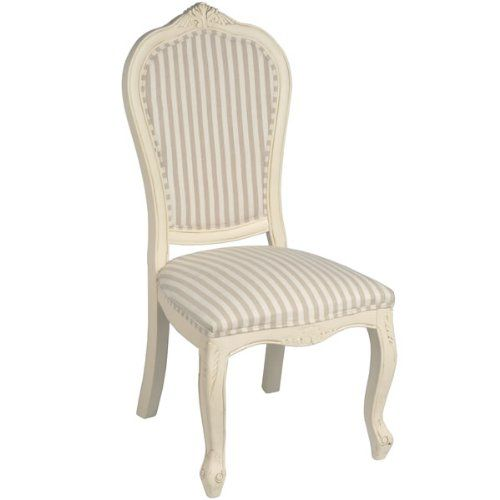 Shabby Chic French Style Country Occional Regency Chair No Arms Full Range Of Matching Furniture Is Available For Bedroom Living Room Kitchen