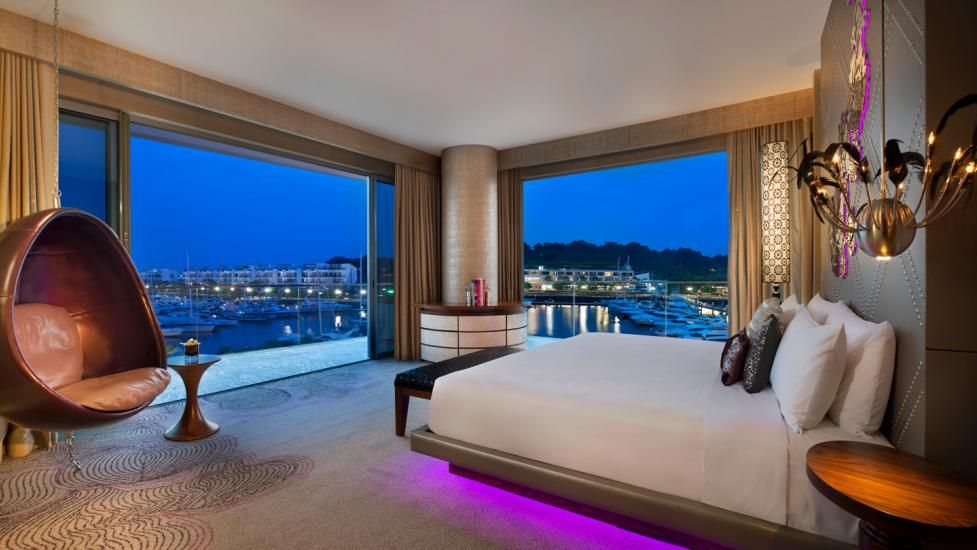 W Singapore Sentosa Cove - Rockwell Group · Bedroom Interior DesignLuxury ... & W Singapore Sentosa Cove - Rockwell Group | hotel design | Pinterest ...