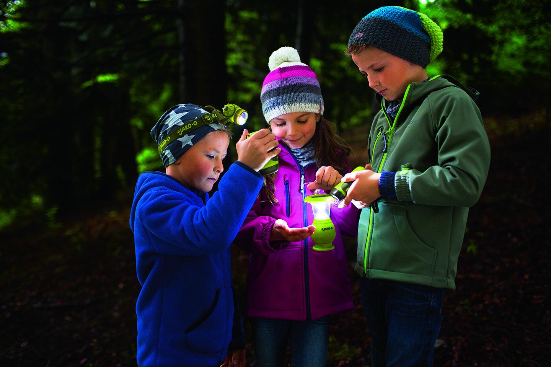 Dynamotaschenlampe jako o spielzeug für draußen