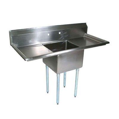 John Boos E1s8 24 14t24 72 1 Compartment Sink W 24 L X 24 W Bowl 14 Deep Countertops Installing Cabinets John Boos