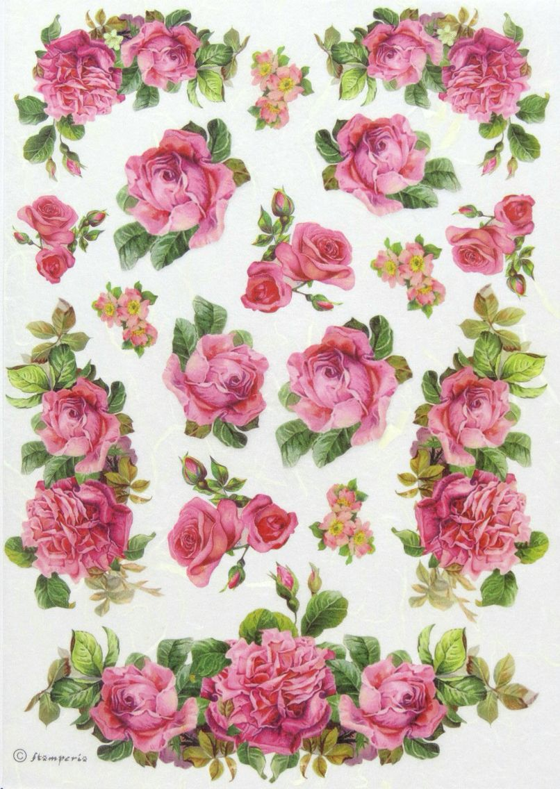 Pin by magorzata pawowska on rosesre pinterest decoupage this rice paper is printed by machine thats why it is thicker than a napkin but it keeps the same transparence and resistance of a rice paper mightylinksfo