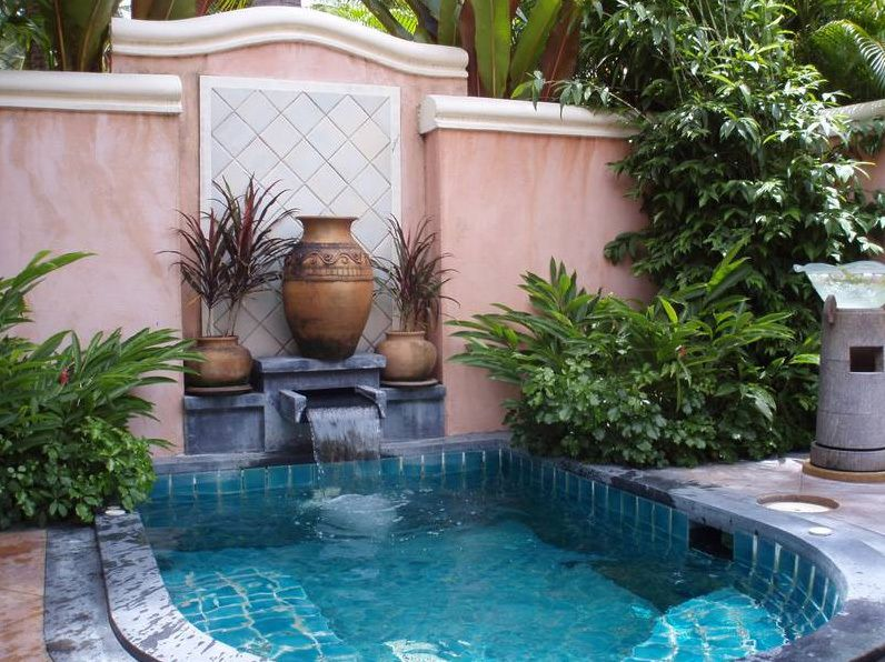 Another Lovely Plunge Pool Small Backyard Pools Small Pool Design Backyard Pool