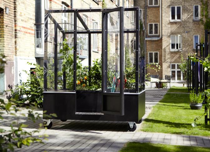 Urban Greenhouse Homegrown Anywhere From Aarhus Denmark Gewachshaus Pergola Pavillon Gewachshaus Selber Bauen