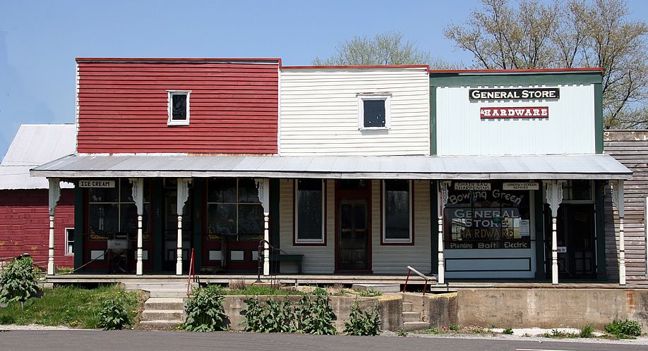 Main Street Bowling Green Indiana Bowling Green General Store Outdoor Decor